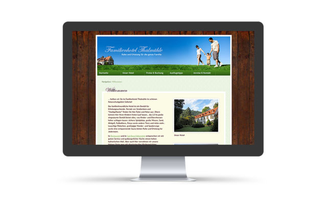 "Webdesign & WordPress-Support für ""Hotel Thalmühle"""