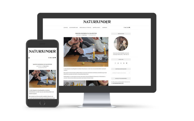 Webdesign & WordPress-Support für Naturkinder