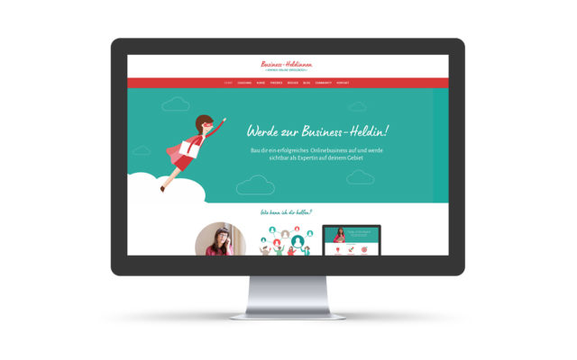 Webdesign Business-Heldinnen