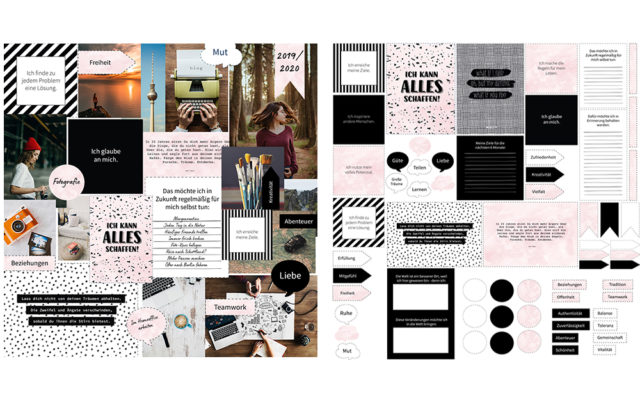 Vision Board Layout-Set