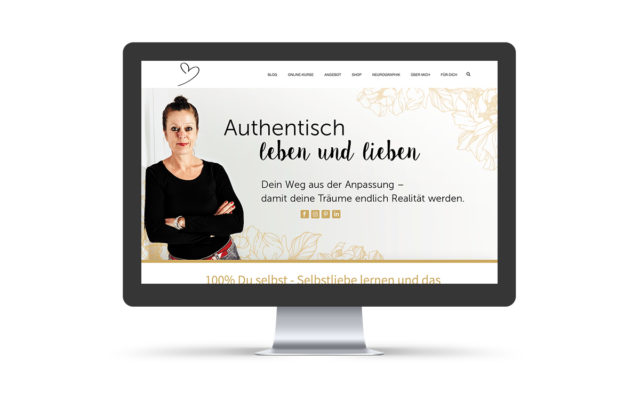 Webdesign & Wordpress-Support für Coach & Autorin Michelle Amecke