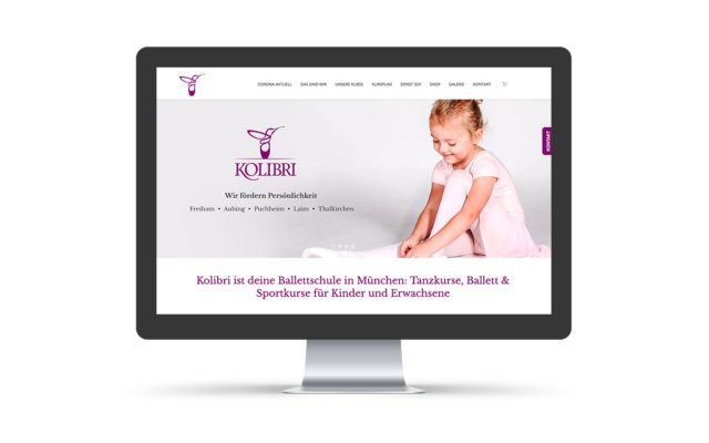 Webdesign & WordPress-Support für Tanzschule Kolibri