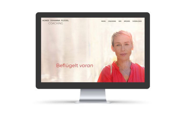 Webdesign & WordPress-Support für Agnes Flügel Coaching